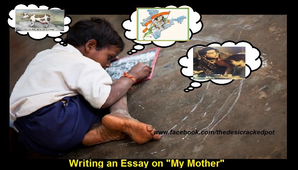 essay for kids my mother
